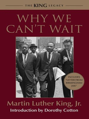 Cover of Why We Can't Wait
