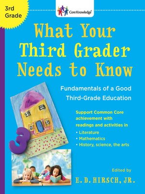 Click this cover for a(n) eBook sample of What Your Third Grader Needs to Know.