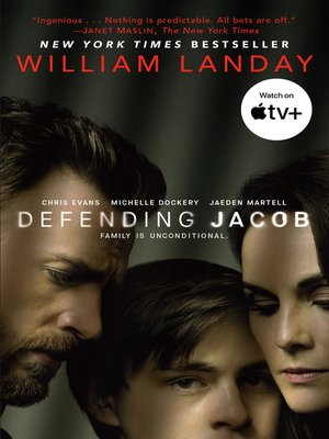 Click this cover for a(n) eBook sample of Defending Jacob.