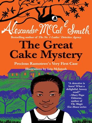 Click this cover for a(n) eBook sample of The Great Cake Mystery.