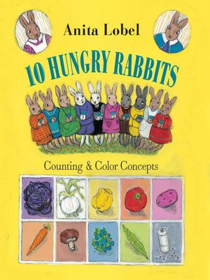 Click this cover for a(n) eBook sample of 10 Hungry Rabbits
