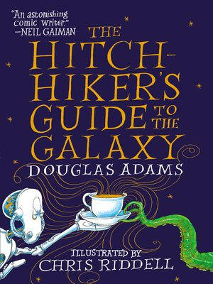 Click this cover for a(n) eBook sample of The Hitchhiker's Guide to the Galaxy