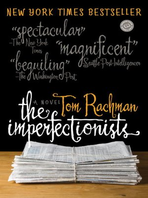 Click this cover for a(n) eBook sample of The Imperfectionists.