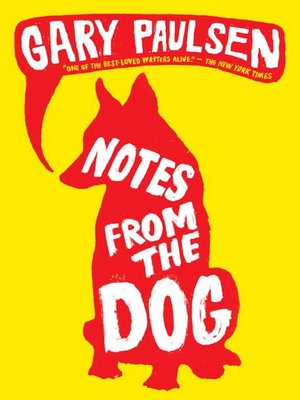 Click this cover for a(n) eBook sample of Notes from the Dog.