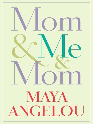 Click this cover for a(n) eBook sample of Mom & Me & Mom.