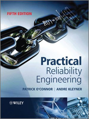 Click this cover for a(n) eBook sample of Practical Reliability Engineering