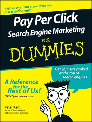 Cover of Pay Per Click Search Engine Marketing For Dummies
