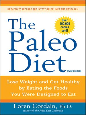 Click this cover for a(n) eBook sample of The Paleo Diet