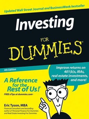 Cover of Investing For Dummies