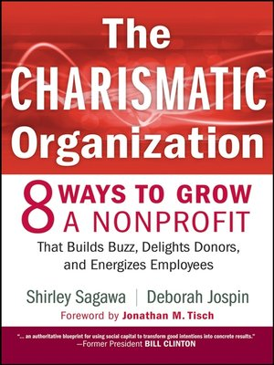 Click this cover for a(n) eBook sample of The Charismatic Organization.