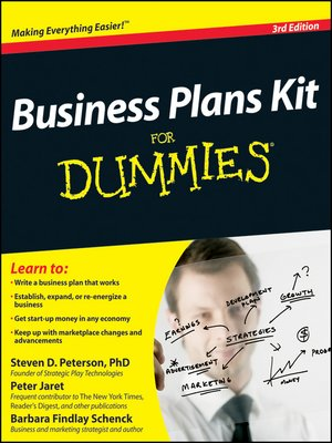 Click this cover for a(n) eBook sample of Business Plans Kit For Dummies