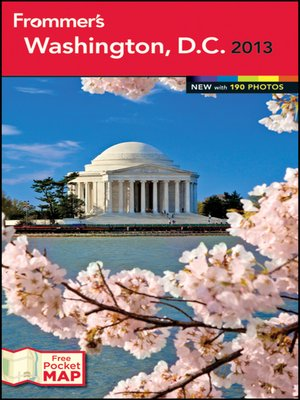 Cover of Frommer's Washington, D.C. 2013