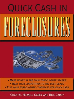 Click this cover for a(n) eBook sample of Quick Cash in Foreclosures.
