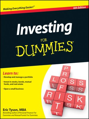 Click this cover for a(n) eBook sample of Investing For Dummies.