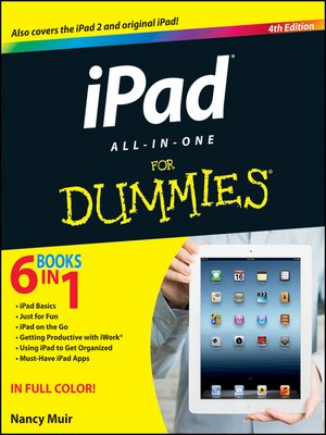 Click this cover for a(n) eBook sample of iPad All-in-One For Dummies.