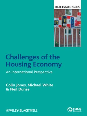 Click this cover for a(n) eBook sample of Challenges of the Housing Economy.