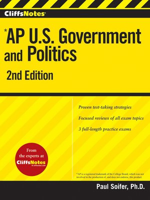 CliffsNotes AP U.S. Government and Politics