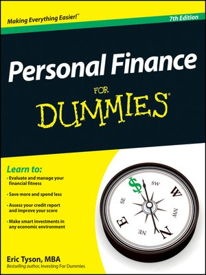Click this cover for a(n) eBook sample of Personal Finance For Dummies.