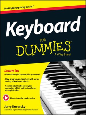Click this cover for a(n) eBook sample of Keyboard For Dummies