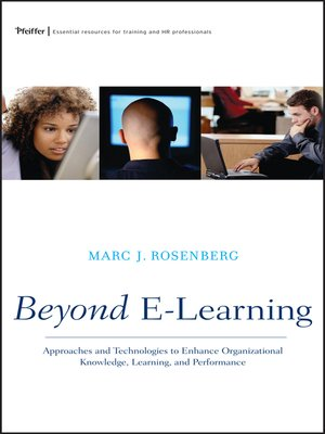 Cover of Beyond E-Learning