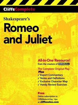 Cover of CliffsComplete<sup>TM</sup> Romeo and Juliet