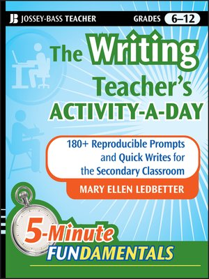 Click this cover for a(n) eBook sample of The Writing Teacher's Activity-a-Day