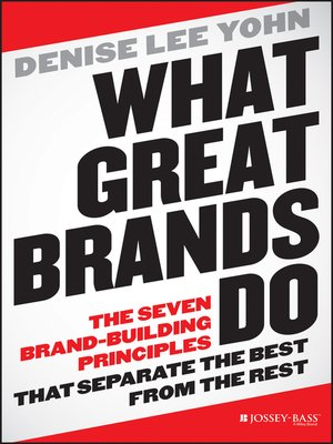 Cover of What Great Brands Do