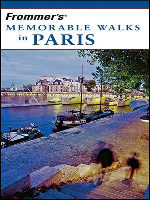 Cover of Frommer's Memorable Walks in Paris
