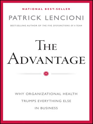 Click this cover for a(n) eBook sample of The Advantage.