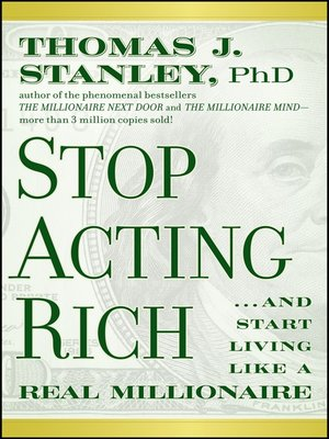 Click this cover for a(n) eBook sample of Stop Acting Rich.