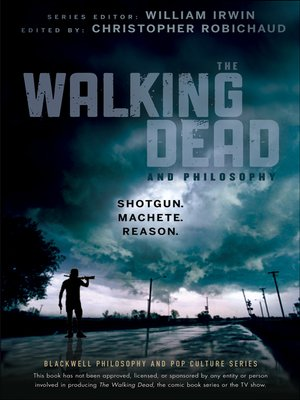 Click this cover for a(n) eBook sample of The Walking Dead and Philosophy.