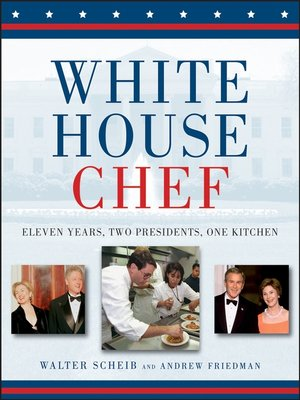 Click this cover for a(n) eBook sample of White House Chef.