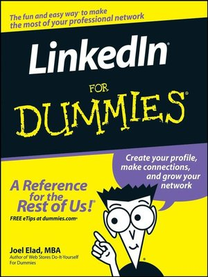 Click this cover for a(n) eBook sample of LinkedIn For Dummies®.