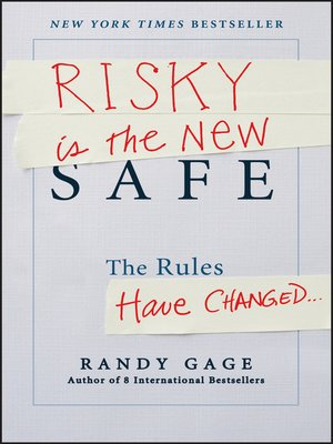 Click this cover for a(n) eBook sample of Risky is the New Safe.