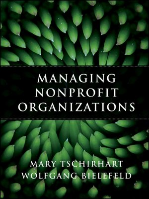 Cover of Managing Nonprofit Organizations