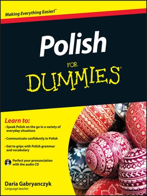 Cover of Polish For Dummies