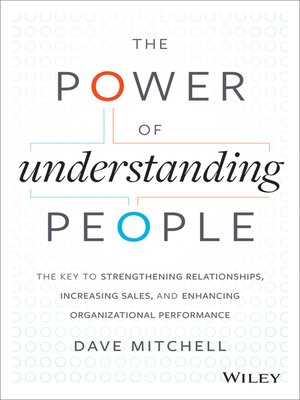 Click here to view eBook details for The Power of Understanding People by Dave Mitchell