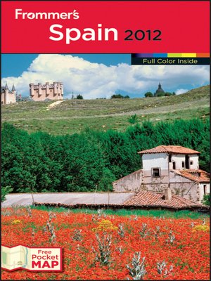 Cover of Frommer's Spain 2012