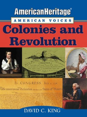 Cover of AmericanHeritage, American Voices