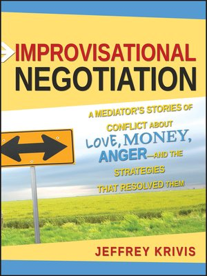 Click this cover for a(n) eBook sample of Improvisational Negotiation