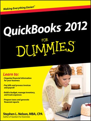 Click this cover for a(n) eBook sample of QuickBooks 2012 For Dummies