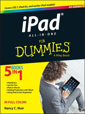 Cover of iPad All-in-One For Dummies