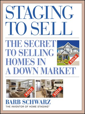 Click this cover for a(n) eBook sample of Staging to Sell