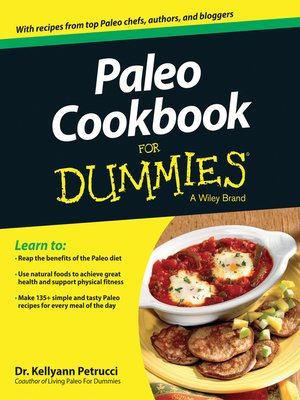 Cover of Paleo Cookbook For Dummies