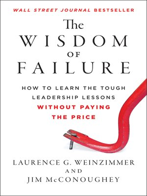 Click this cover for a(n) eBook sample of The Wisdom of Failure