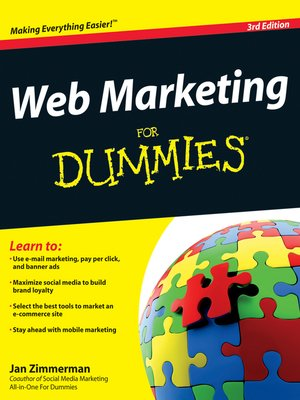 Click this cover for a(n) eBook sample of Web Marketing For Dummies.