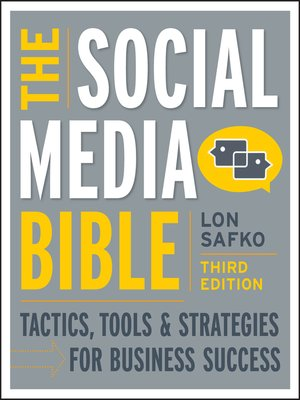 Click this cover for a(n) eBook sample of The Social Media Bible.