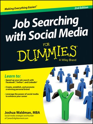 Click this cover for a(n) eBook sample of Job Searching with Social Media For Dummies.