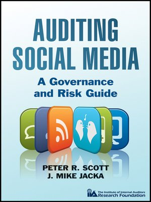 Click this cover for a(n) eBook sample of Auditing Social Media.