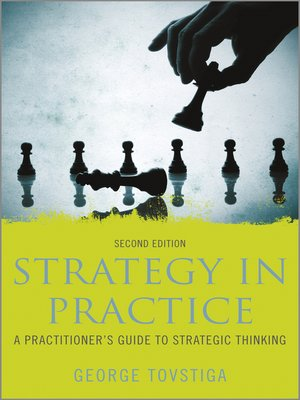 Click this cover for a(n) eBook sample of Strategy in Practice.